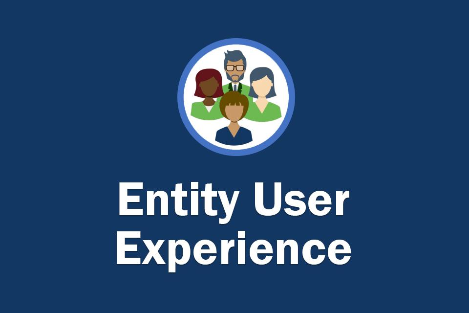 Entity User Experience